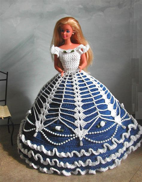 fashion doll free crochet fashion doll pattern 584 cotillion gown