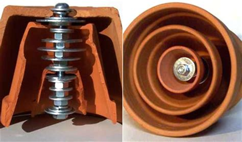riscaldamento vasi terracotta ecodesign come riscaldarsi con una candela in ufficio