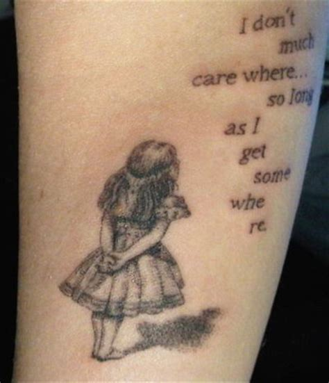 alice in wonderland tattoo tattoo pinterest