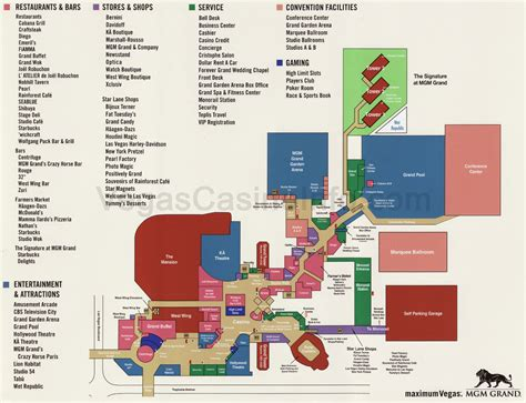 Foxwoods Casino Floor Plan by Mgm Foxwoods Casino Property Map Pictures To Pin On