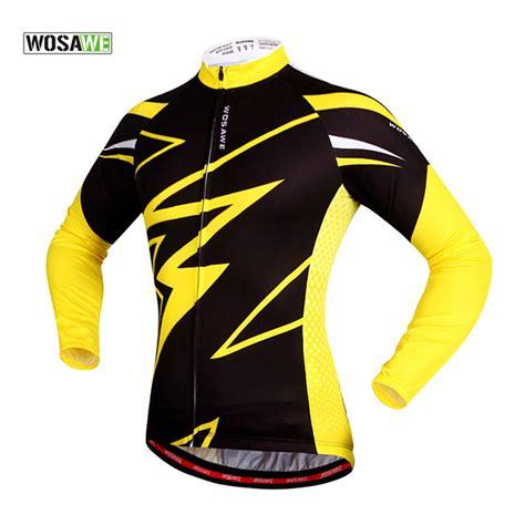 Top Product Jaket Coolmen Cl Pakaian Pria Jaket Hitam Ba aliexpress beli wosawe pria jaket bersepeda sepeda gunung pakaian jersey sepeda siklus