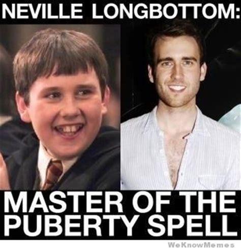 Neville Longbottom Meme - master of the puberty spell weknowmemes