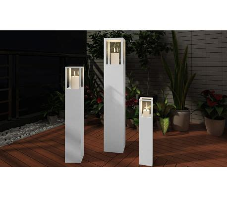 White Candle Stand by Wood Candle Stand White Vidaxl Au