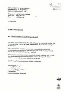 Whittington pain clinic letter asante academy of chinese medicine