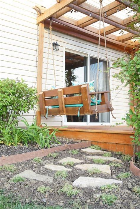make a porch swing build a porch swing