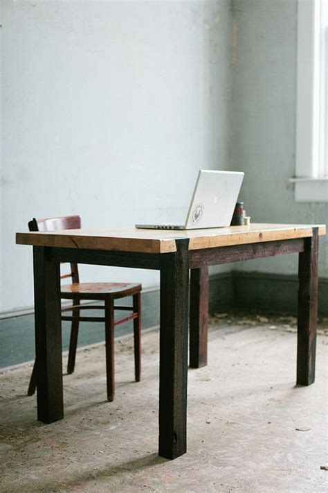 Industrial Modern Desk Items Similar To Dovetail Work Table Modern Industrial Desk On Etsy