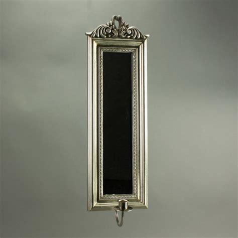 kerzenhalter spiegel spiegel mit kerzenhalter antik stil holz h 53 5 cm