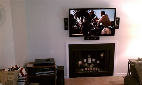 clinton ct mount tv above fireplace home theater clinton ct mount tv above fireplace home theater