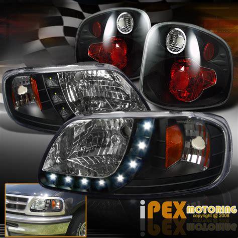 2001 f150 lights 2001 2002 2003 ford f150 svt headlights black corner