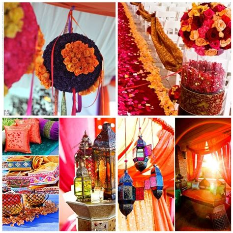 Indian Themed Decor a creative project indian inspired wedding