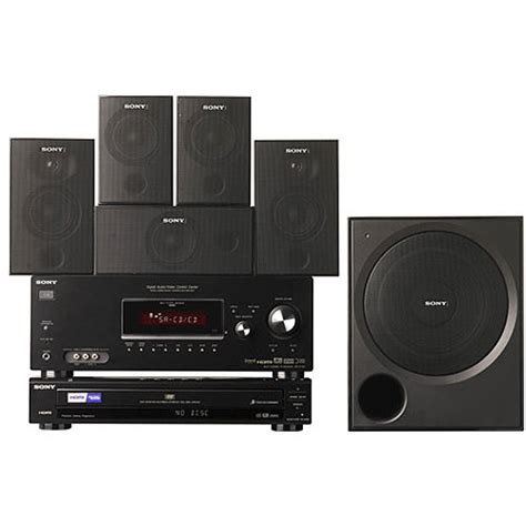 Speaker Dvd sony ht 7100dh home theater system ht 7100dh b h photo