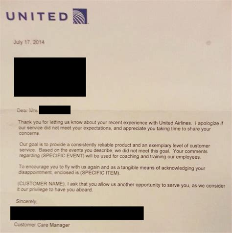 Apology Letter To Angry Friend This Is An Apology Letter United Airlines Wrote To A Customer You Can T Make This Up Viralspell