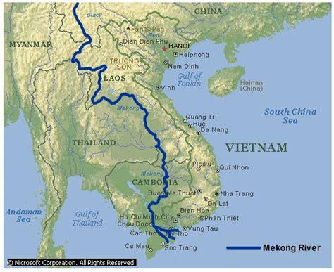 mekong river map mekong river maps mekong river cruise mekong delta tour cambodia