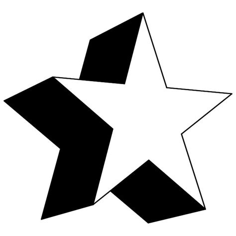 star 3d vector download at vectorportal search results for templates of a 3d star calendar 2015