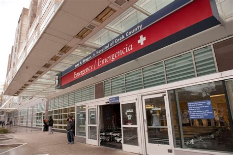 county emergency room emergency room wait times drop at the h stroger jr hospital cook county health and