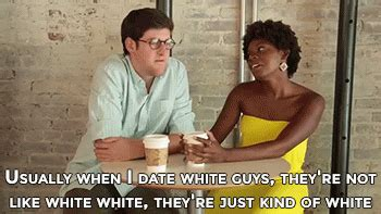 Black Man White Woman Meme - race dating gif find share on giphy