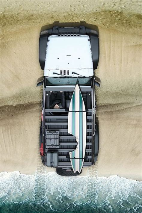 jeep with surfboard jeep beach and a surf board what s not to like jeep