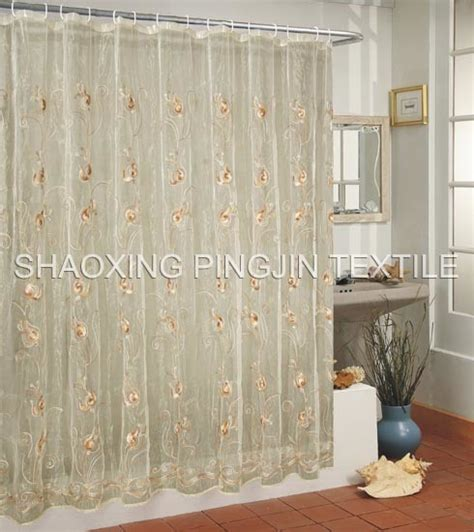 shower curtains com china voile shower curtains pjesc03 china voile curtains