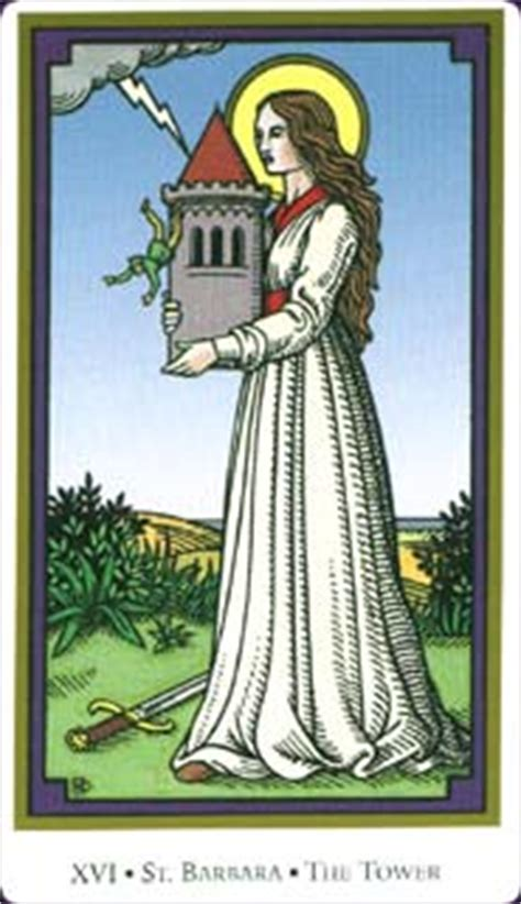 christian sts for card tarot of the saints