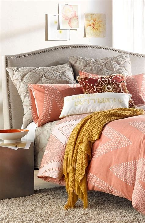 gray and coral bedding 27 best navy blue indigo and white home decor images on