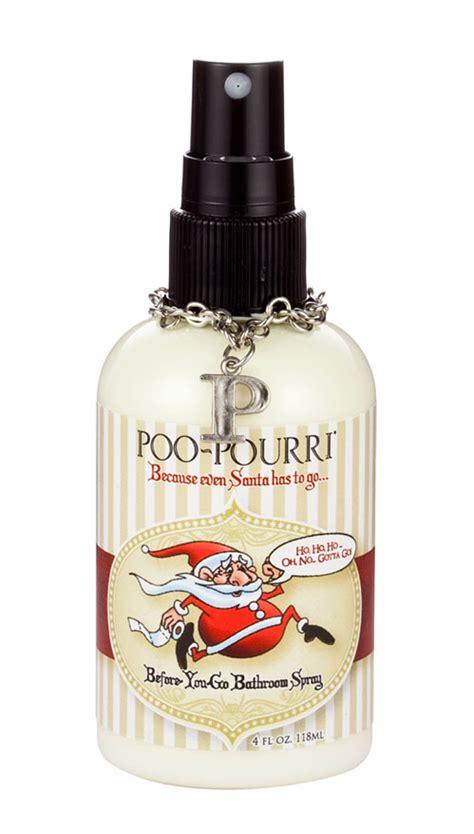 spray for bathroom 4 oz santa poo poo pourri bathroom spray