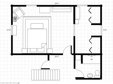 Master Bedroom Floor Plans by Adding A Bathroom To A Master Bedroom Dressing Area Try 2
