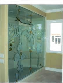 custom shower glass steam enclosures