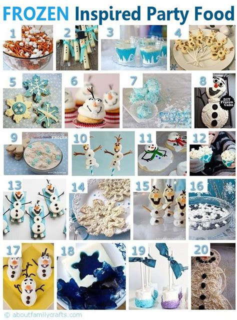 frozen themed birthday food 75 diy frozen birthday party ideas about family crafts