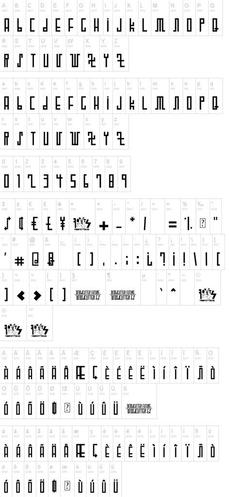 dafont futuristic woodcutter future schriftart dafont com