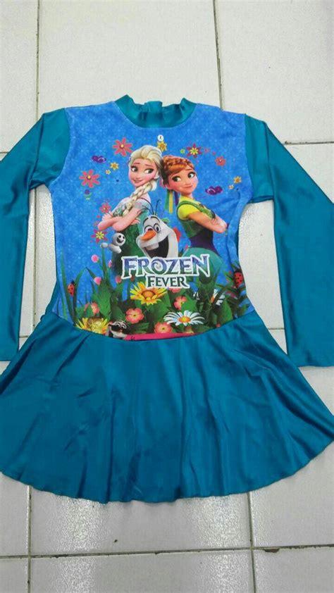 Baju Renang Frozen Jual Baju Renang Anak Muslim Frozen Size Sd Gp Fashion