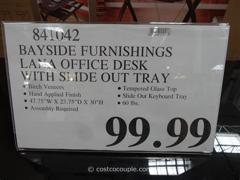 Bayside Furnishings Computer Desk by Bayside Furnishings Computer Desk