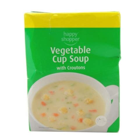 g to cup vegetables price happy shopper vegetable cup soup with croutons