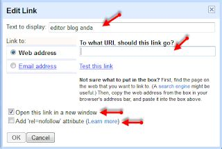 membuat link nofollow cara mudah membuat link pada artikel blog untuk pemula
