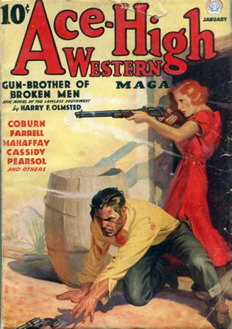 rough edges saturday morning western pulp ace high western magazine january