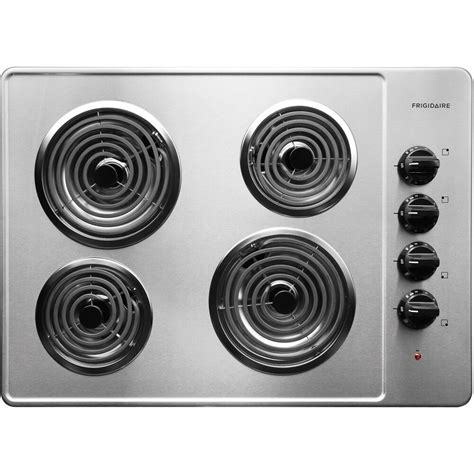 top electric cooktops frigidaire ffec3005ls 30 quot coil top electric cooktop