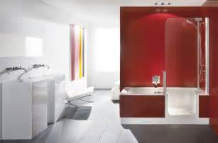 bathroom black red white: rms smwagne black white red modern bathroom s rend hgtvcom golimeco
