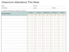 Attendance Sheet Templates by Attendance Calendar Sheet Template Excel Calendar