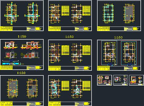 residence dwg section  autocad designs cad