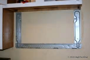 how to remove an microwave install a new panasonic