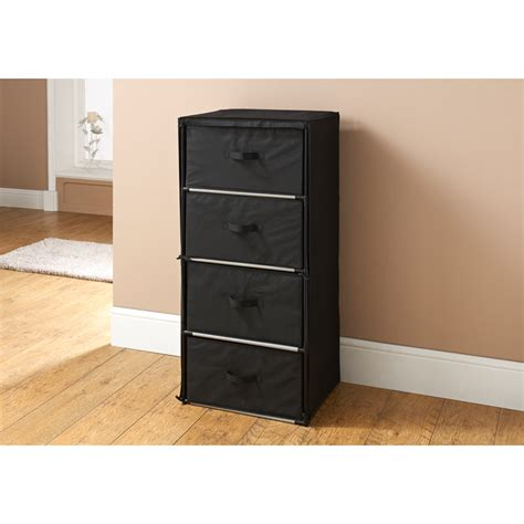 plastic chest of drawers b m b m multipurpose 4 drawer storage unit storage