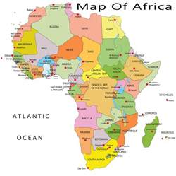 Current Map Of Africa by Maps Of The World To Print And Download Chameleon Web
