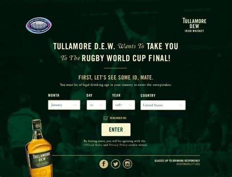 Game Face Sweepstakes - tullamore d e w game face yourself sweepstakes isl