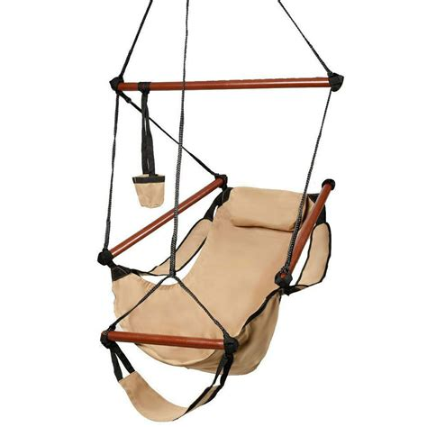 hammock swing chair deluxe air hammock hanging patio tree sky swing chair