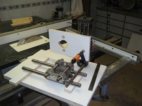 shop made woodworking machines shop made horizontal slot mortising machine by corydoras