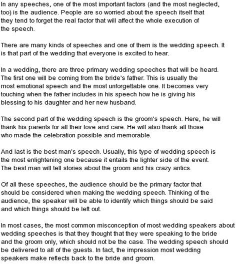 Top 12 Funny Wedding Speeches   Funny Collection World