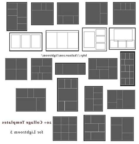 Photo Templates For Lightroom Lightroom Print Templates