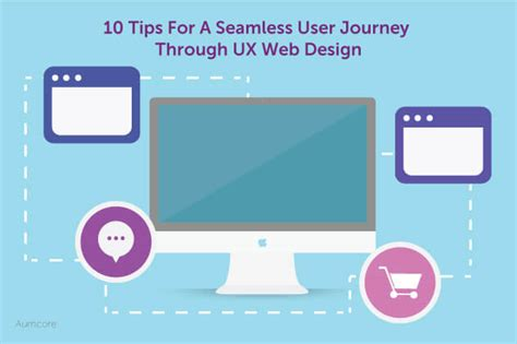 10 tips for designing a 10 tips for a seamless user journey through ux web design