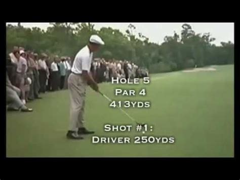 ben hogan swing youtube ben hogan club distances youtube