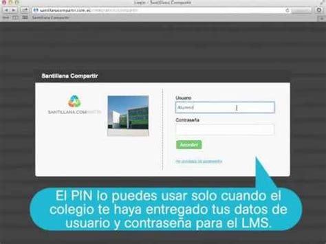 libro compartir conoce c 243 mo acceder a la plataforma santillana compartir youtube
