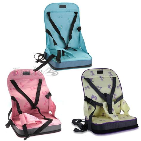 Dining Chair Booster Seat Portable Baby Toddler Infants Dining Chair Booster Seat Harness Safety Ebay